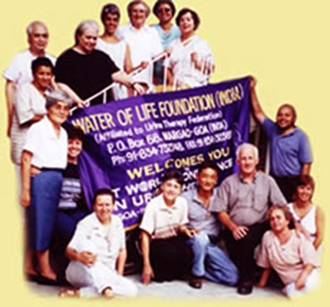 1 ° Conferenza mondiale sulla terapia dell'urina nel febbraio 1996 tenuta in India