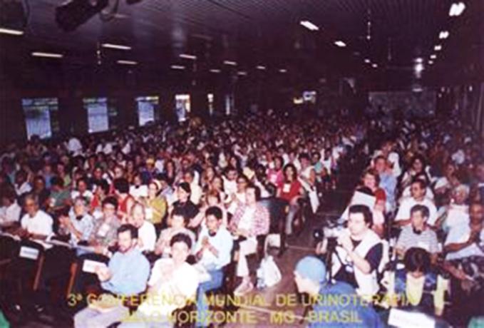 3 ° World Congress Urintherapy Belo Horizonte, Brasile. dal 30 aprile al 30 maggio 2003