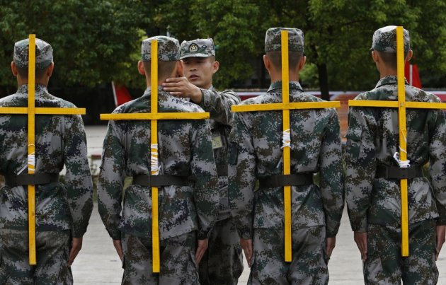 Military-Recruit-China-PLA-Army-Marching-Posture-1